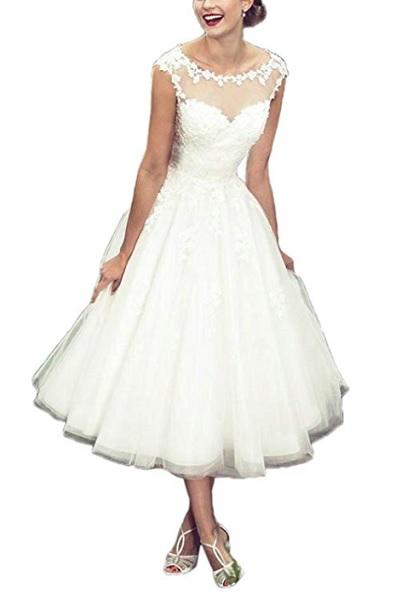 Vintage Brautkleid Boho Hochzeitskleid Hippie Brautkleid Rockabilly Brautkleid Spitze schlicht rückenfrei